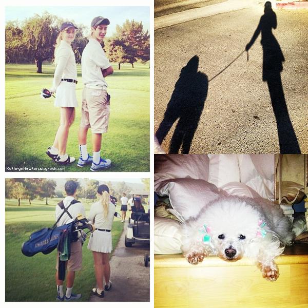 Nouvelles photos personnelles de Kathryn à DisneyLand avec son amie Alana.