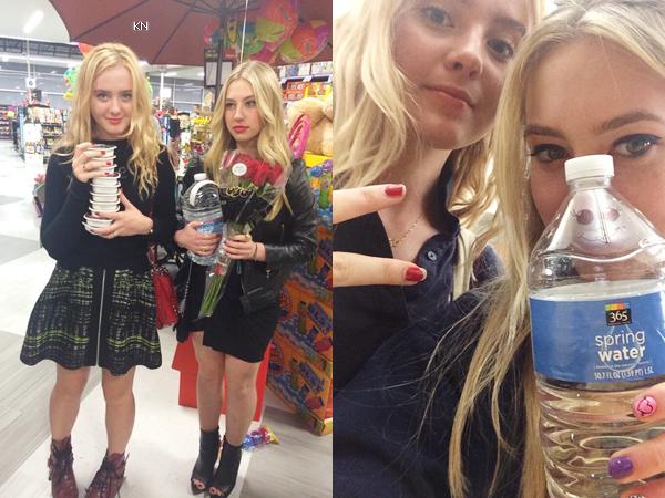 Nouvelle photo de Kathryn et des amies en Mars 2014.