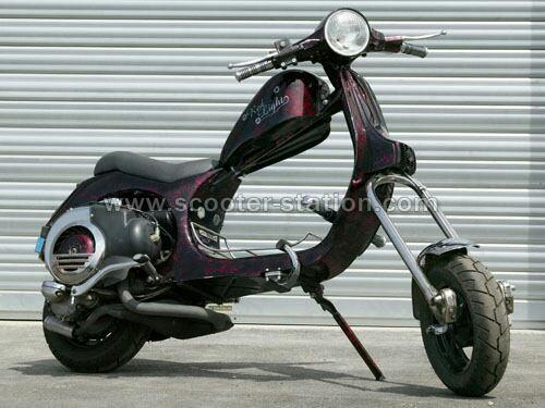 Voilà à quoi je voudrais que mon scooter ressemble