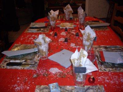 NOEL 2010 : la table