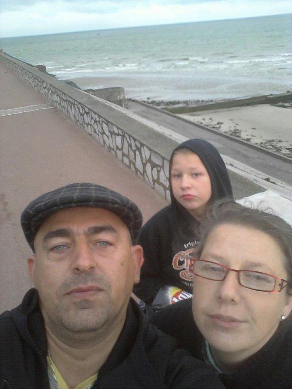Moi ma femme et mon fils