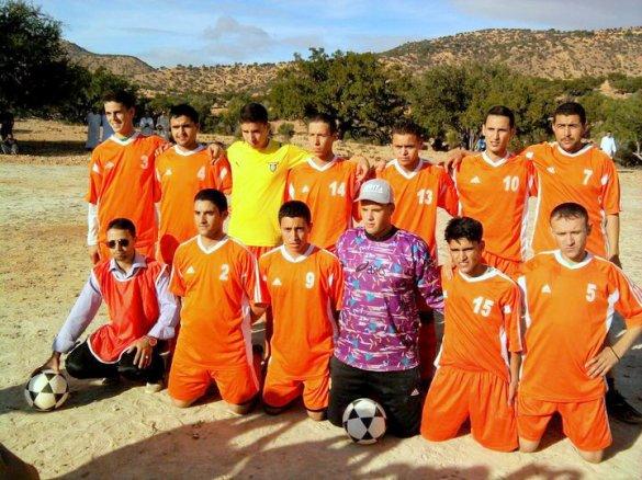 فريق اتحاد اورير ايت ناصر لكرة القدم تشكيلة موسم 2010