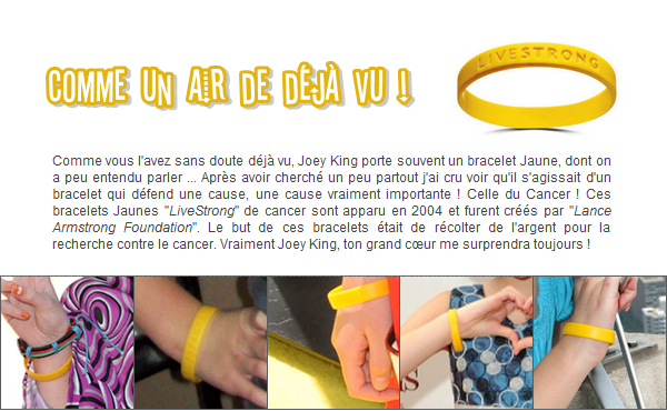 LE BEAU  BRACELET JAUNE !   Qu'est-ce qui est jaune et qui attend ? Jonathan ! Lol ;) Non mais encore le jolie petit bracelet  de notre petite princesse ^^ ! Si je faisais la liste de tout ce qui est Jaune ? Hum ! Bob l'éponge, les bananes, les dents qui manquent de dentifrice, le citron, les poussins, les pissenlits, les pages jaunes, mais encore ce bracelet et si par miracle vous aussi vous vous demandez à quoi il peut servir, lisez cet article ;)