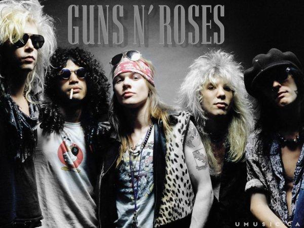 ---->Guns N' Roses<----