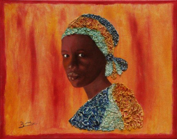Bergère Peule (Sahel)