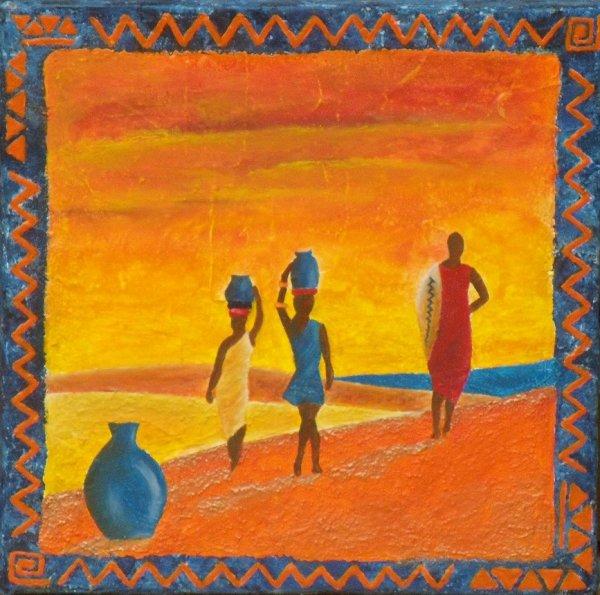 Scène d'Afrique