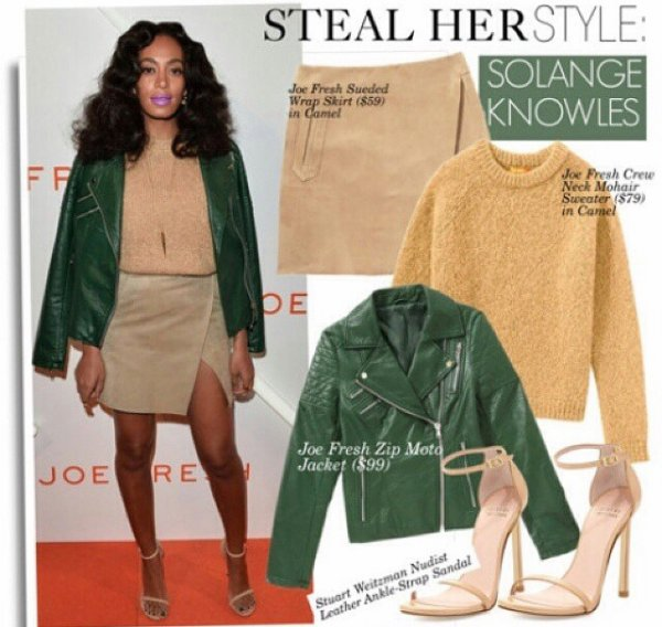 Solange Knowles : habiller vous comme elle!