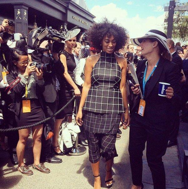 Solange Knowles fait encore polémique en Australie!