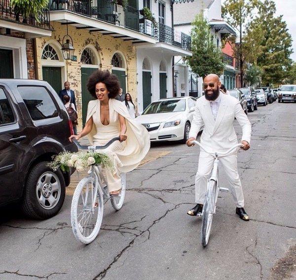Solange Knowles :wedding
