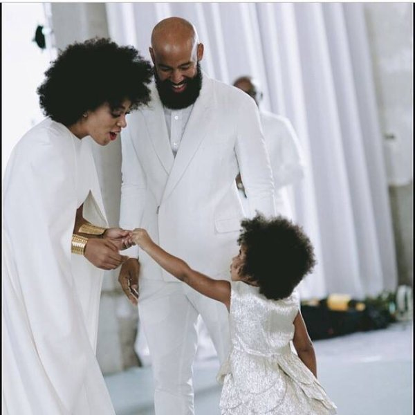 Solange Knowles avec blue ivy!