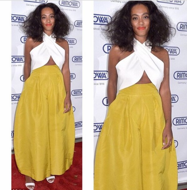 Solange Knowles nappy girl!