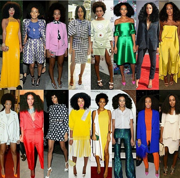 solange knowles : icone mode
