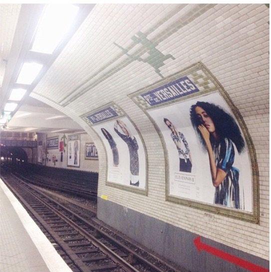 Solange Knowles  a ainsi été désignée nouvelle égérie d'Eleven Paris il y a quelques mois. Ainsi, elle succède à la charismatique Kate Moss et incarne le nouveau visage de la célèbre marque!