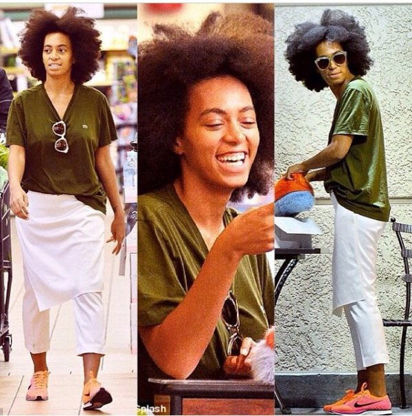 Solange Knowles au supermarché!