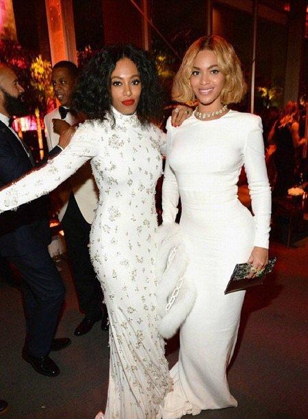 Solange Knowles avec son Mari et Beyonce au Vanity Fair!
