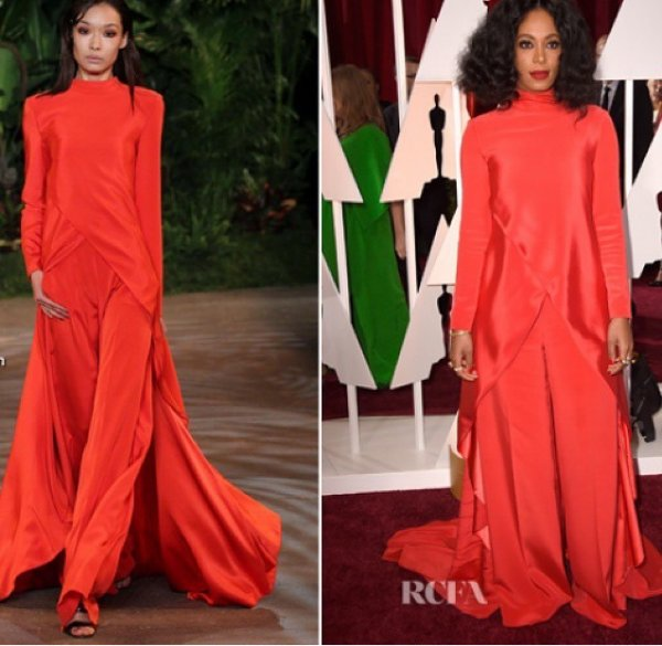 Solange Knowles aux Oscars!