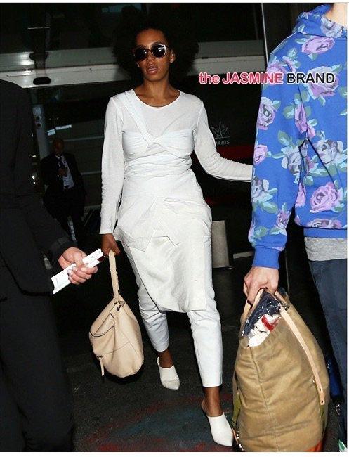 Je répète solange Knowles est à Paris pour la fashion week je répète !