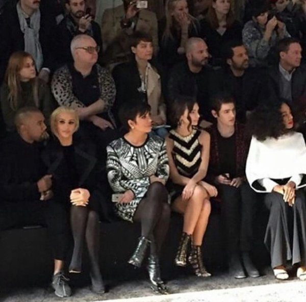Solange Knowles tendance à Paris lors de la fashion week