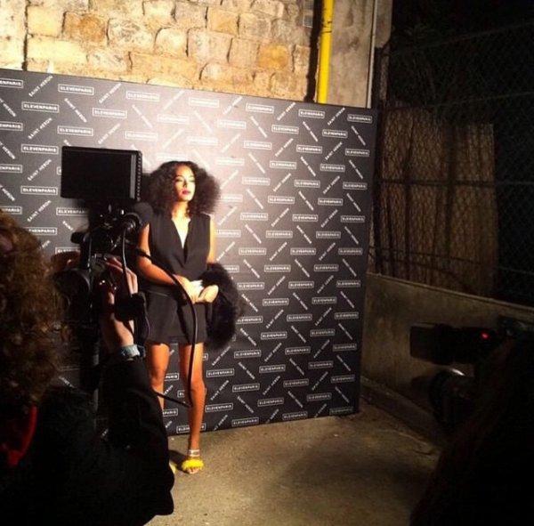 Solange Knowles l'égérie  Eleven Paris