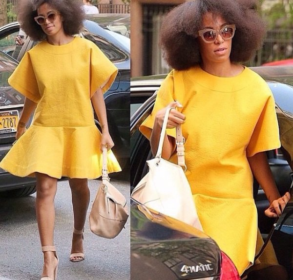 Solange knowles a New York pour Le MET gala 2015!
