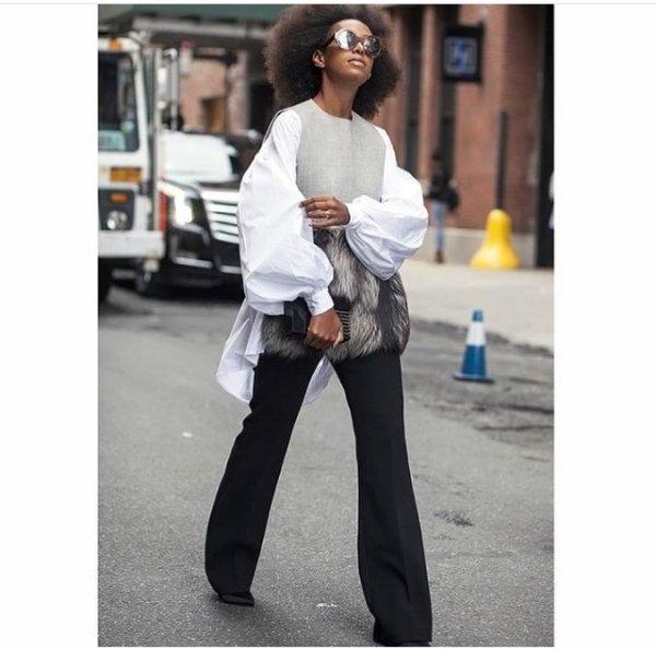 Solange Knowles dans les rue de New York