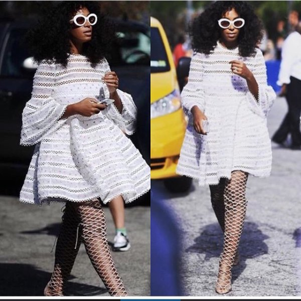 Solange Knowles ces secret de beaute