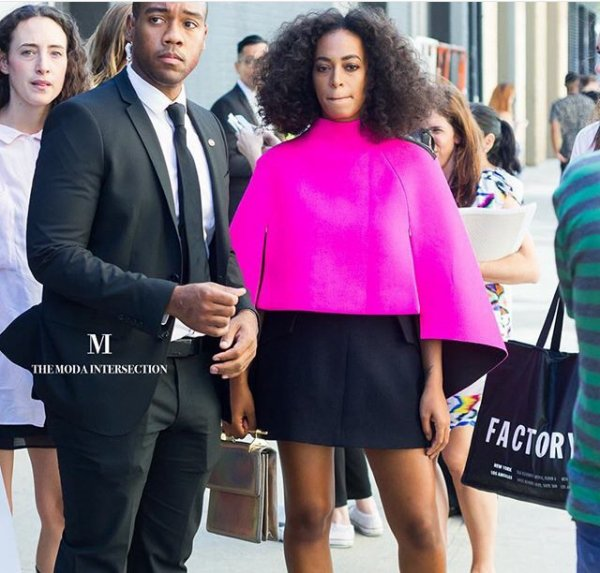 Solange Knowles aux Fashion week