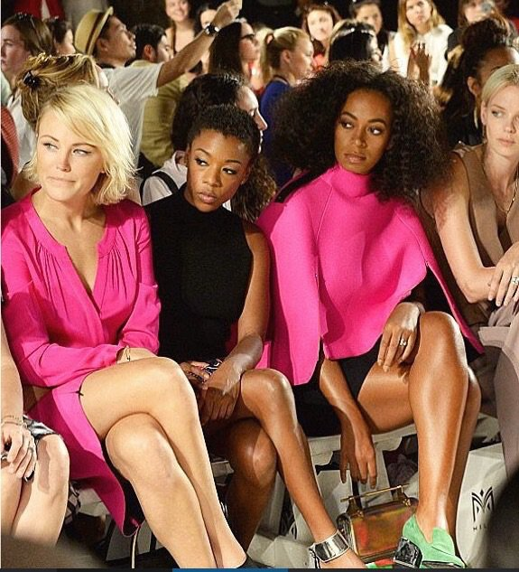 Solange Knowles aux Fashion week
