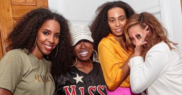 Solange Knowles ,sweet,missy Elliot ,Kelly Rowland et Sa s½ur