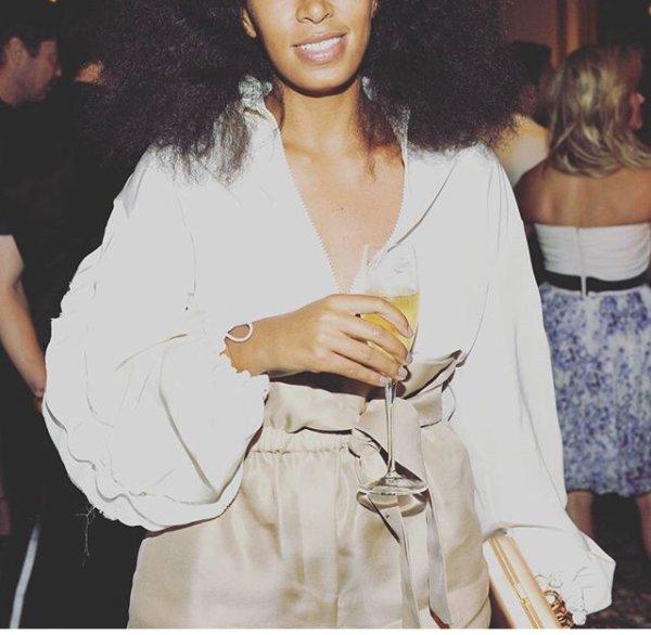 Solange Knowles a la soirée des CFDA incontournable