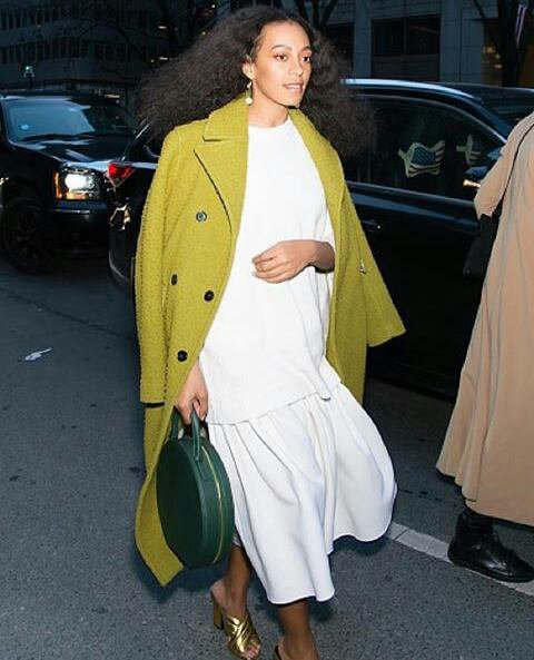 Solange knowles son nouveau style a New york