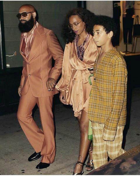 Solange knowles a la soire de Beyonce