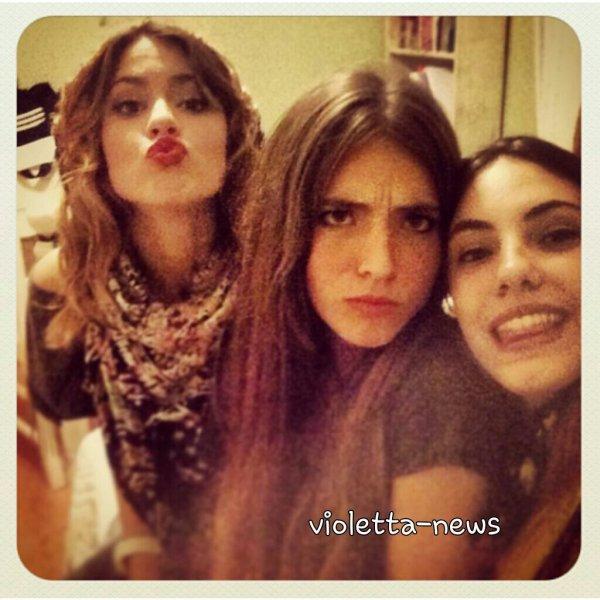 Tini et ses amies simplemente tini - Image de violetta et ses amies ...