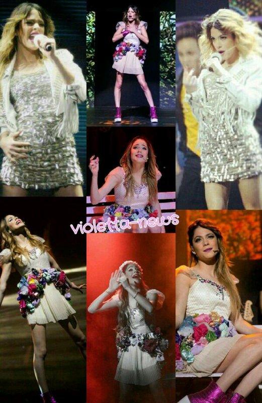 Violetta en vivo ... photos