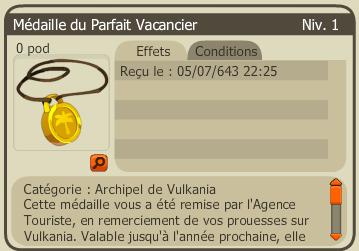 Etes-vous un Parfait Vacancier (Vulkania) ?