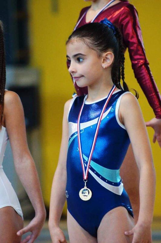 Talia vice championne départementale 2016
