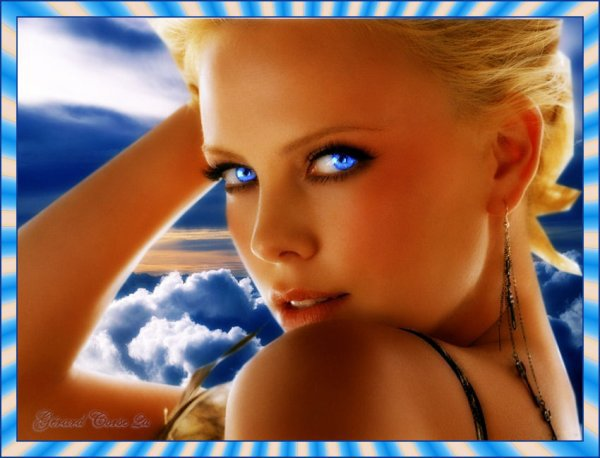 Jolie fille aux yeux collection 15 wallpapers - Fille brune au yeux bleu ...