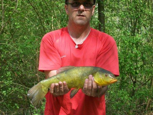 une petite heure de pêche le 11/04/2011