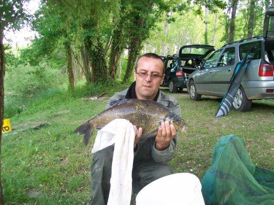 journée de pêche , moi et jean-luc