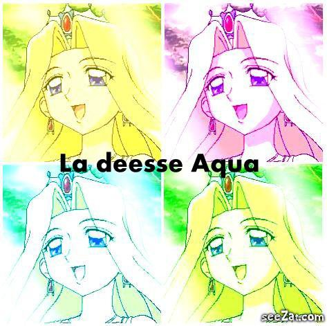 La déesse Aqua