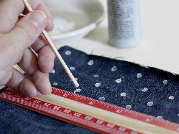 DIY jean à personnaliser