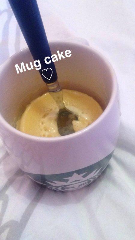 [ Recette ] mug cake nature