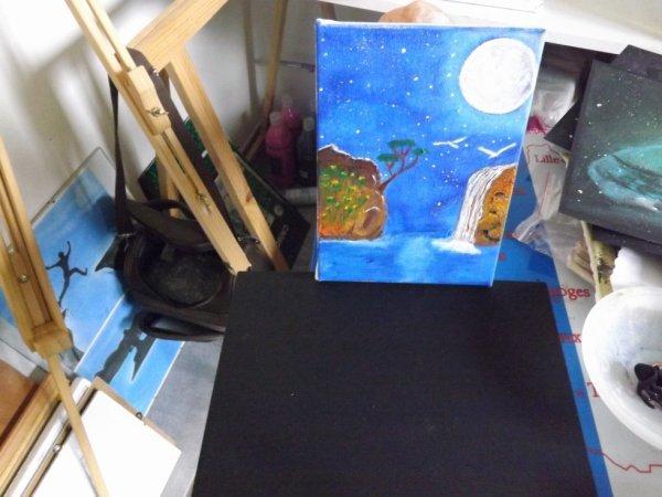 <3 Suite <3 Peinture acrylique 13x18 <3