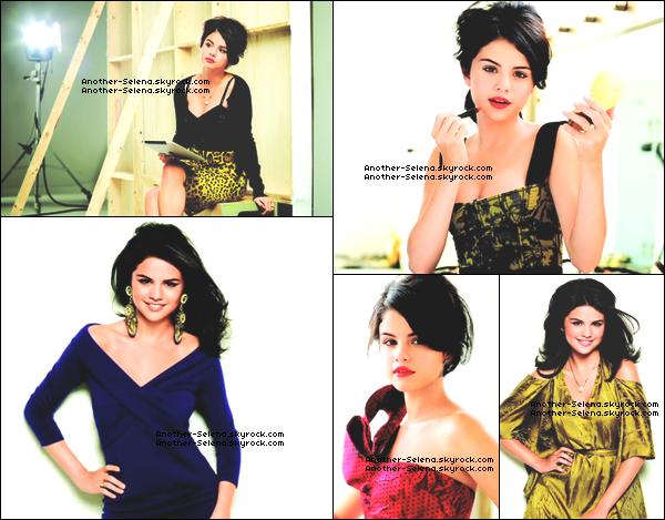 """● Photoshoot ~ Latina Magazine (08 Septembre) Découvrez les 5 photos de Selena posant pour le """"Latina Magazine"""" ."""