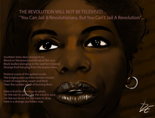 "THE REVOLUTION WILL NOT BE TELEVISED… ""You Can Jail A Revolutionary, But You Can't Jail A Revolution""..."