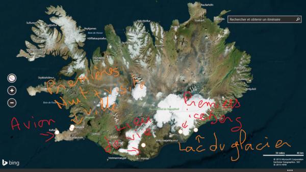 Carte du Voyage =)