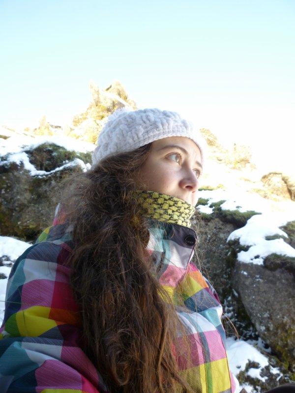 Mon bel Islandais sous la neige P2