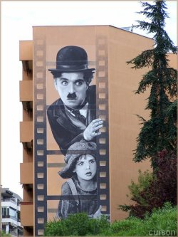 Fresques Chaplin!
