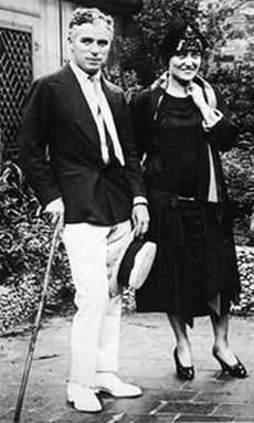 Charlie et Gloria Swanson