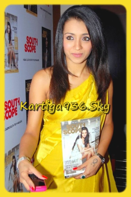♥...La belle Trisha pour le magazine south scope...♥